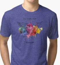 Bored in Heaven, Alone in Hell Tri-blend T-Shirt