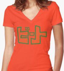 Jet Set Radio Beat Shirt  Women's Fitted V-Neck T-Shirt