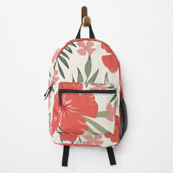 Summer trend abstract Hawaii beach pattern Backpack