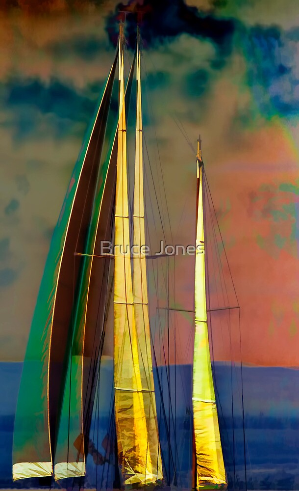 """""""Mindful Of Sails 2"""" by Bruce Jones"""