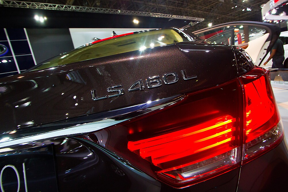 Lexus LS 460L Back Light [ Print & iPad / iPod / iPhone Case ] by Mauricio Santana