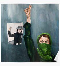 Iran Revolutionary Poster