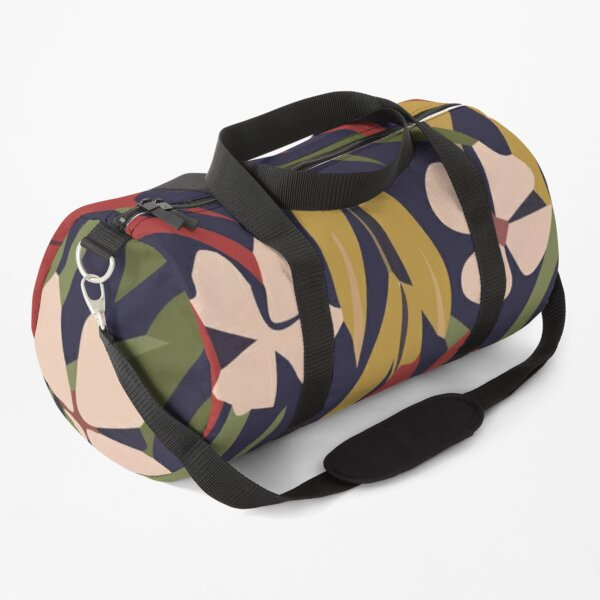Summer trend abstract leaves Duffle Bag