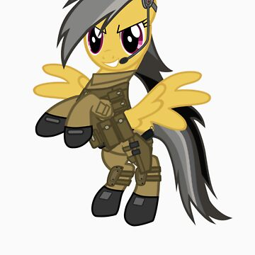 My Little Military Pony by missbrodrick