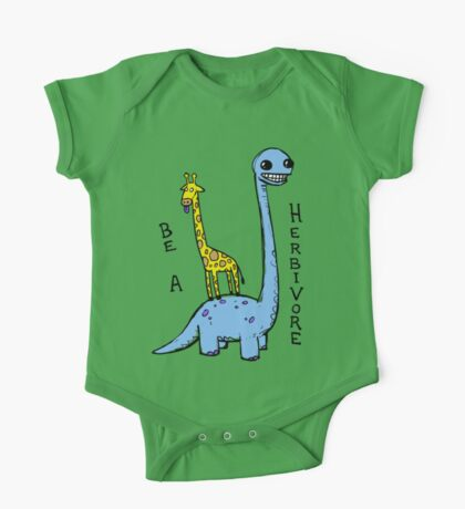 be a herbivore Kids Clothes