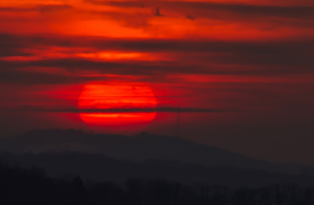 Sunset At Virginville, PA by Tom Gotzy