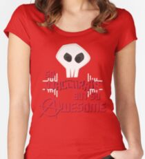 Anarchy Rocks! Women's Fitted Scoop T-Shirt