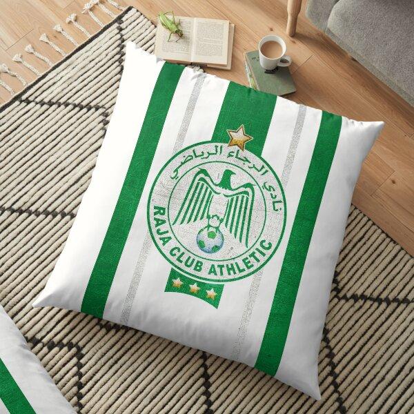 Raja Casablanca ultras hooligans fans football Morocco Floor Pillow