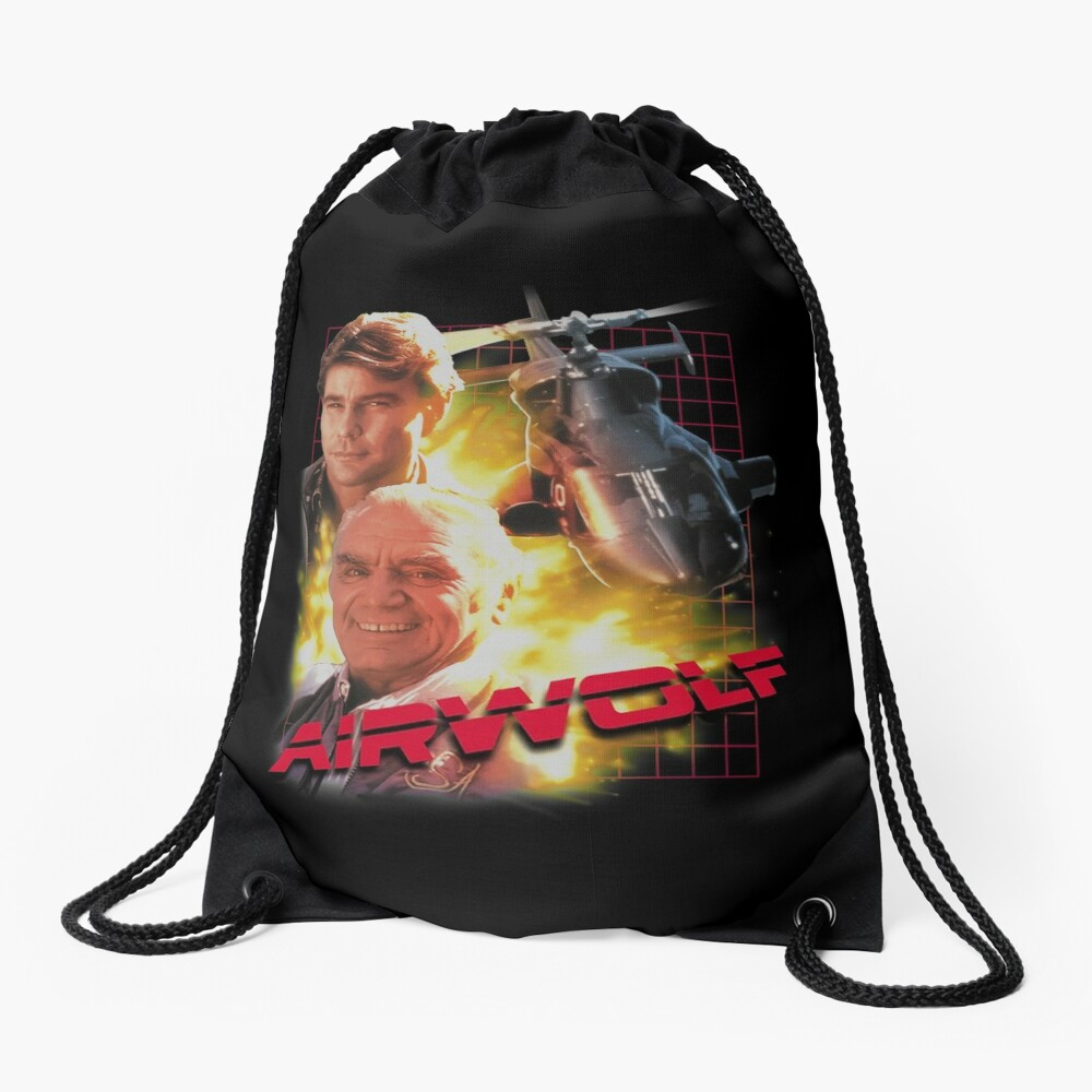 Airwolf Drawstring Bag
