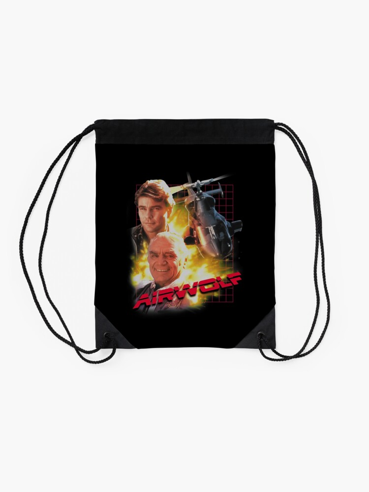 Alternate view of Airwolf Drawstring Bag