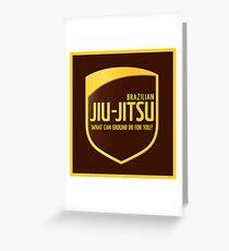 Jiu-Jitsu Greeting Card