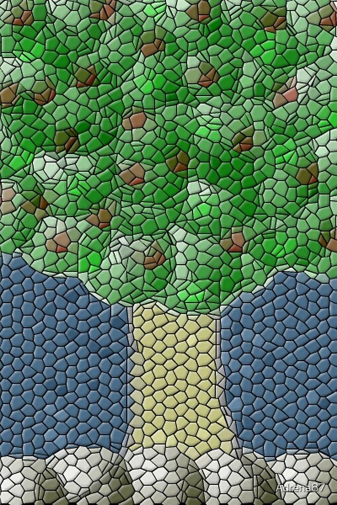 Mosaic Tree by Adrena87