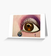 Tearful Intercession Greeting Card
