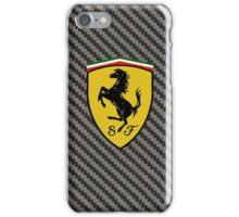 Carbon Fiber Ferrari Case iPhone Case/Skin