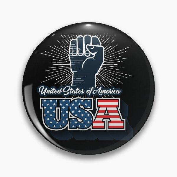 Lapel Pin Anti-Police Violence Blue Klux Klan with free Black Lives Matter pin