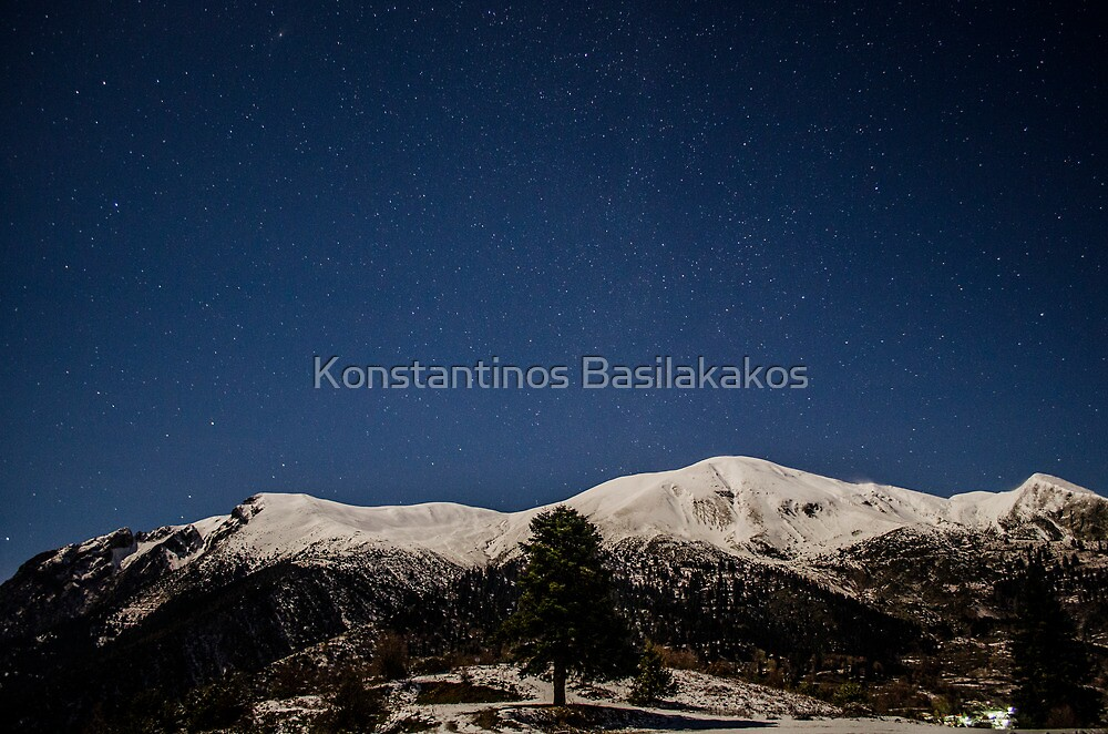 A beautifull night sky by Konstantinos Basilakakos