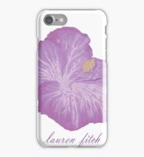 Lauren Fitch- Hibiscus  iPhone Case/Skin