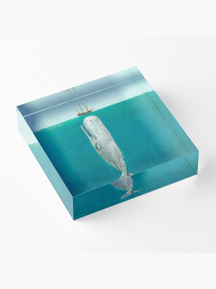 Alternate view of The Whale - Full Length  Acrylic Block