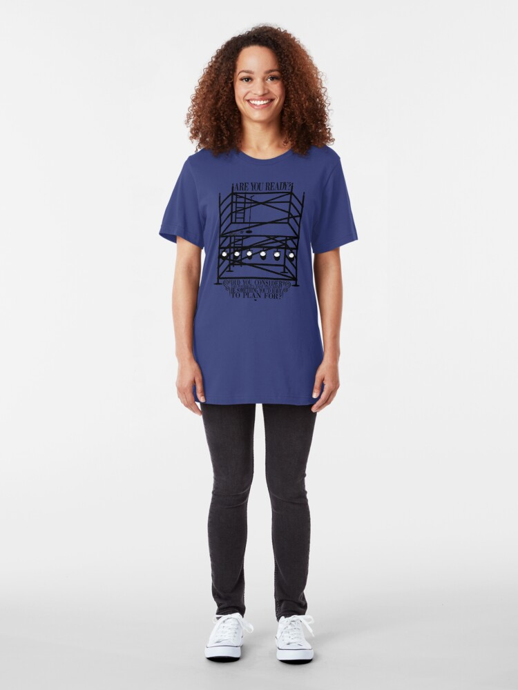 Alternate view of Ready for This? Slim Fit T-Shirt