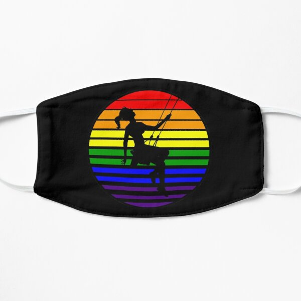 Swingset Pride - Rainbow Flag - V1 Flat Mask