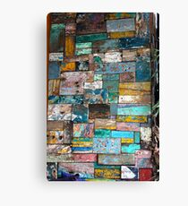Colour Blocks Canvas Print