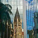 St. John's Anglican Cathedral in reflection by hans p olsen