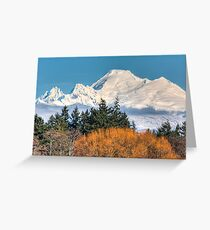 Mount Baker Greeting Card