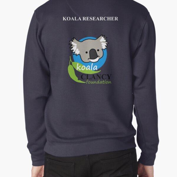 Koala Clancy Foundation - large logo researcher Pullover Sweatshirt