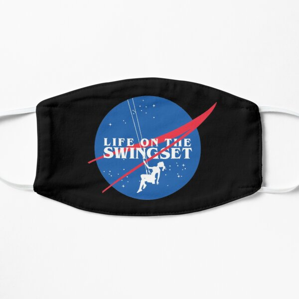 Swingset NASA Meatball Logo with Title Flat Mask