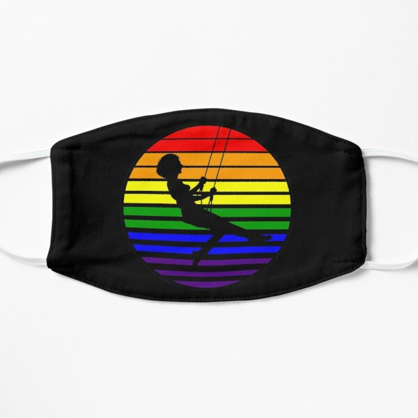 Swingset Pride - Rainbow Flag - V3 Flat Mask