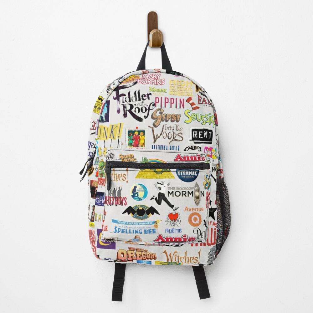 Musical Logos Backpack