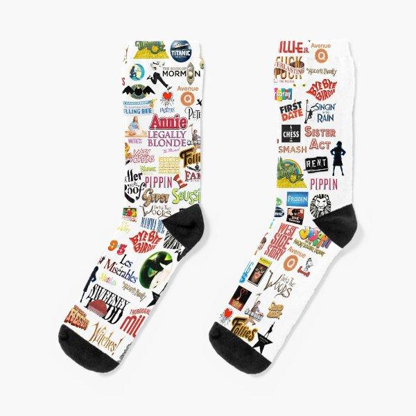 Musical Logos Socks