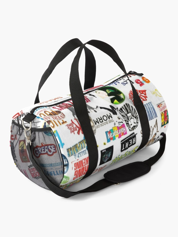 Alternate view of Musical Logos (Cases, Duvets, Books, Clothes etc) Duffle Bag