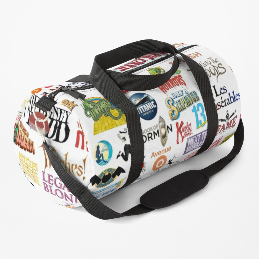 Musical Logos (Cases, Duvets, Books, Clothes etc) Duffle Bag