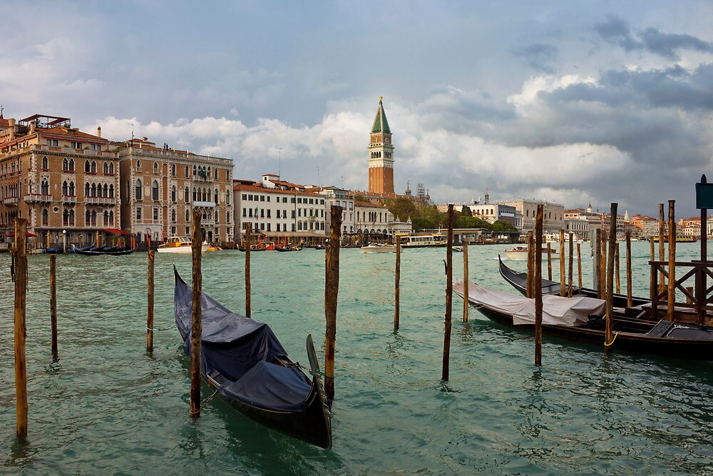 Grand Canal in Venice after storm by kirilart