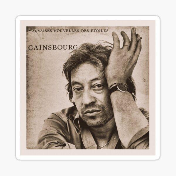 Serge Gainsbourg Sticker