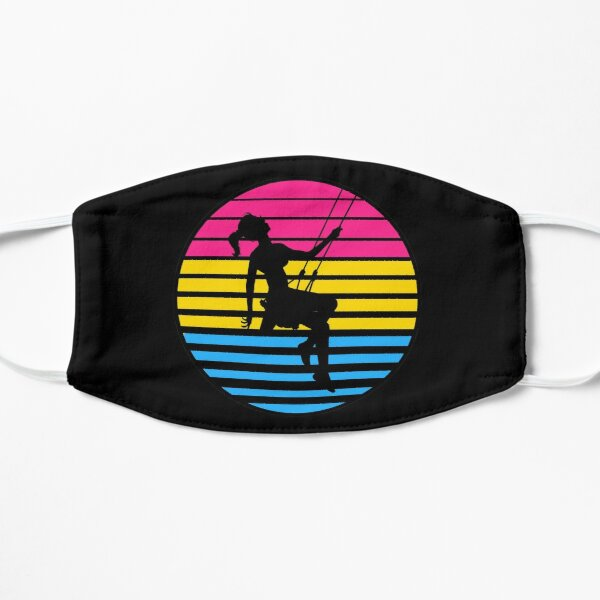 Swingset Pride - Pan Flag - V1 Flat Mask