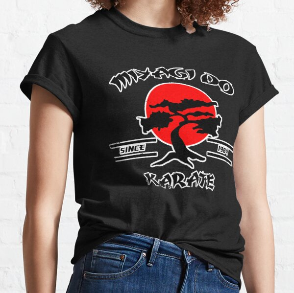 Karate Kid Mr Miyagi Miyagi Do Karate Design 1980's Movie Nostalgia Classic T-Shirt
