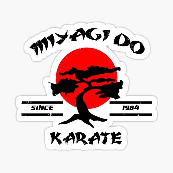 Karate Kid Mr Miyagi Miyagi Do Karate Design 1980's Movie Nostalgia Sticker