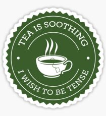 Tea Quote Sticker
