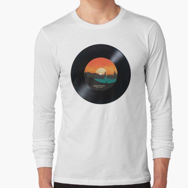 Rising Tide Blues  - Vinyl Disc Long Sleeve T-Shirt