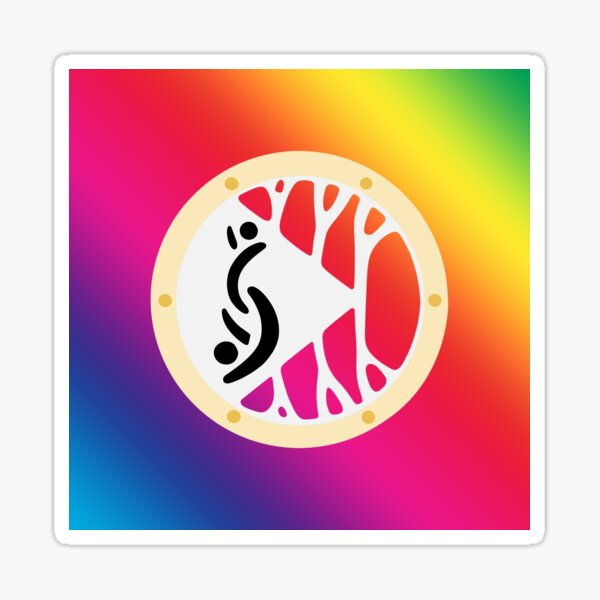 Partners ID International Swinger Symbol Sticker