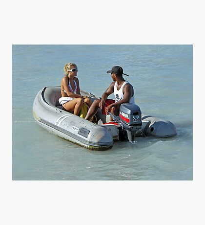 Aruba Water Taxi  Photographic Print