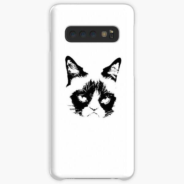 Bad Mood Cat Samsung Galaxy Snap Case