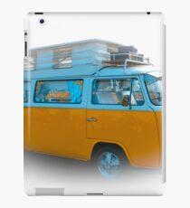 Vehicle - Orange Camper Van iPad Case/Skin