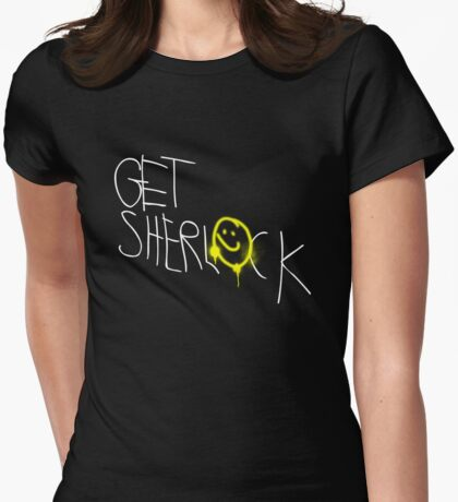 Get Sherl☻ck - 02 - Womens Fitted T-Shirt