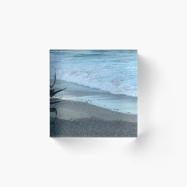 beach light Acrylic Block