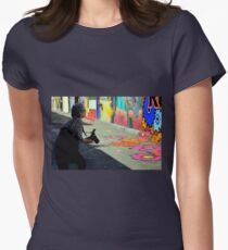 Getting The Right Angle Womens Fitted T-Shirt