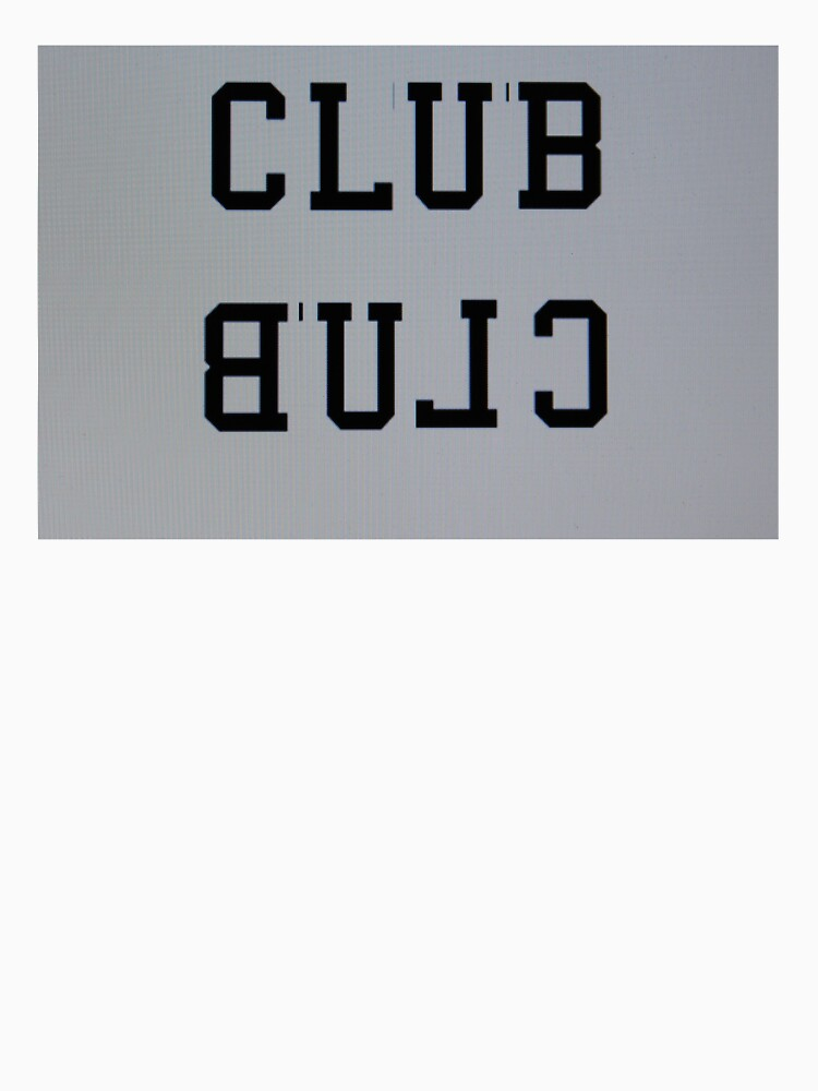 CLUB/BULC t-shirt by CLUBuniform