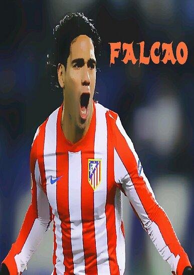 """Radamel Falcao """"EL TIGRE"""" by DABC"""